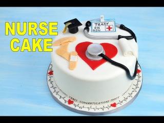 Как сделать торт на медицинскую тему