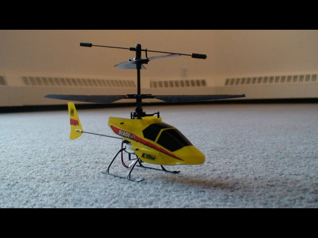 RC ADVENTURES - RC HELICOPTER - BEGINNERS EFLiTE BLADE MCX w/ CARBON FIBER COCKPIT