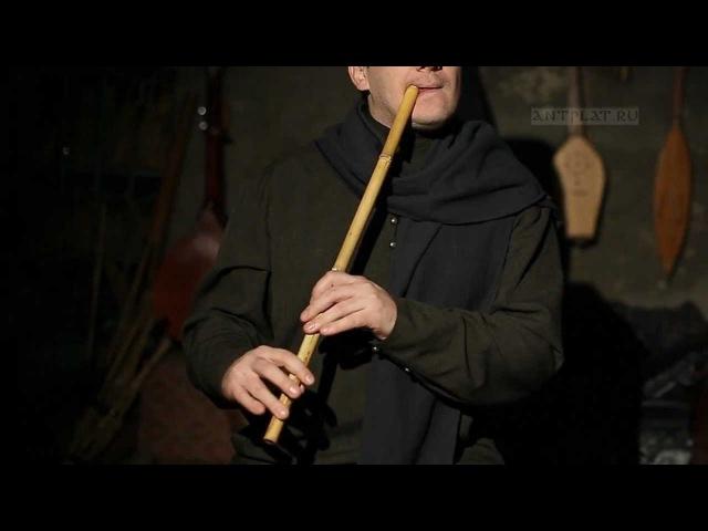 Kamyl made out of cane (Circassian flute) Камыль из тростника. Къамыл