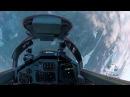 Невероятный полет красавицы из России на истребителе Миг 29!