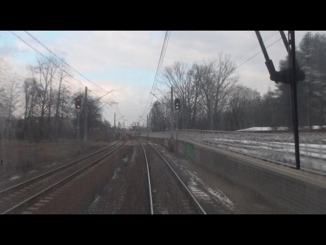 Cabview EN57 Trzebinia Kraków Główny sound 05 02 2016