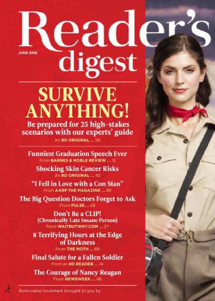 Reader's Digest USA - June 2016