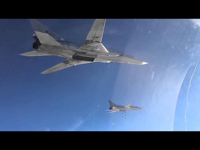 Боевые вылеты Дальней авиации ВВС России по объектам ИГИЛ в Сирии