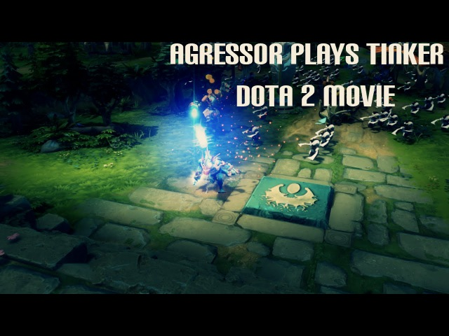 [Dota 2]Agress0r Plays Tinker Montage!