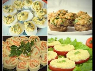 ТОП-5 вкусных и простых рецептов закусок на Новый год