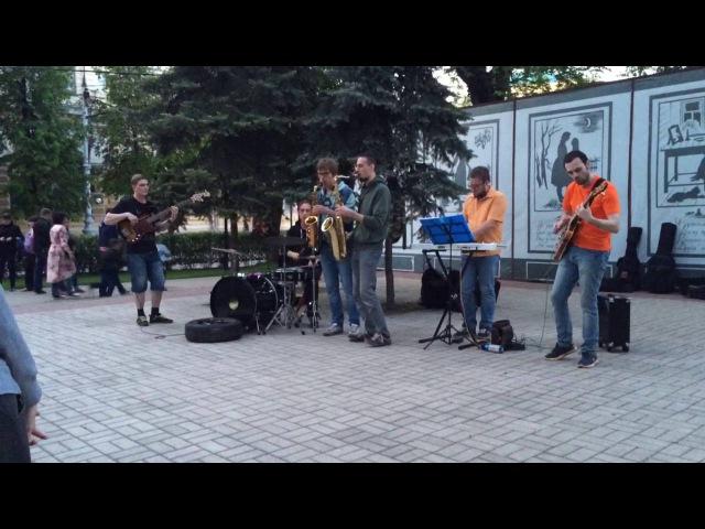 Chamelion DRINK'N Jazz Street jam