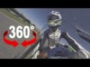 360° Jerez onboard Dominique Aegerter DOMI 77 Training lap