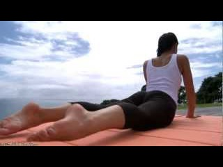 Melissa Mendiny Sexy Yoga