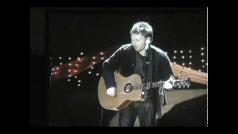 Thom Yorke (Radiohead) LUCKY Bridge School Benefit 2002-10-26