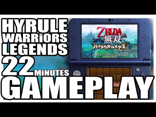 3DS / Hyrule Warriors Legends // 22 Minutes Direct Feed Awesome Gameplay