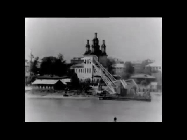 Тотьма, река Сухона, 1982 год