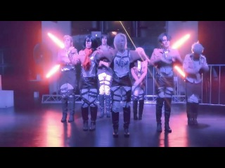 Now | Ah Yeah | Dope | Attack on Titan cosplay | Dance Cover [KCDC]