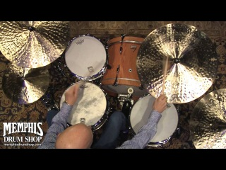 Steve Smith plays a matched set of Zildjian K Constantinople Cymbals