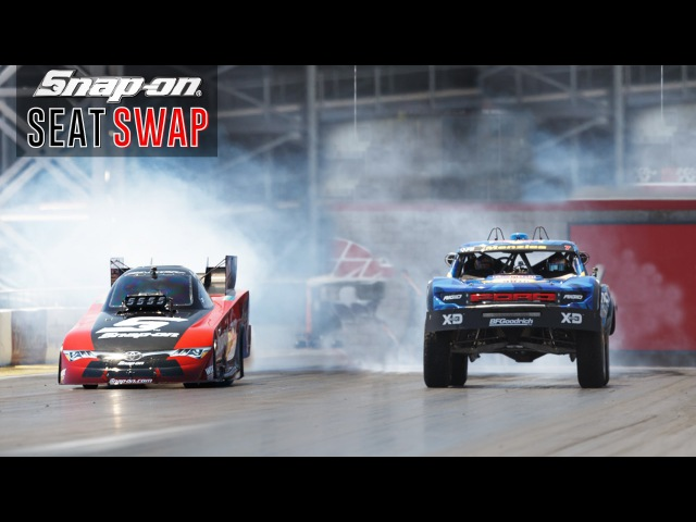 Swapping a Trophy Truck Nitro Funny Car ft Cruz Pedregon and Bryce Menzies Snap on Tools