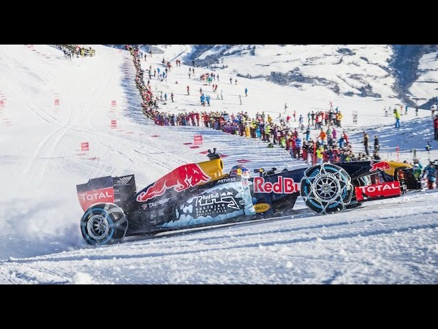 Max Verstappen takes on Austria's Kitzbuhel ski slopes