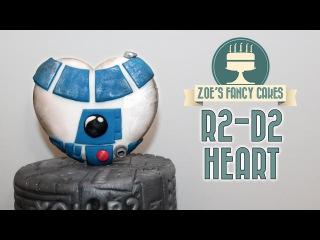 [] R2-D2 cake topper heart: Star Wars