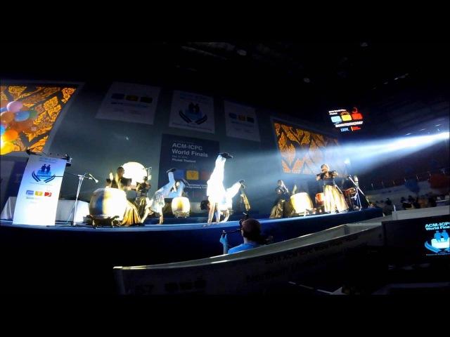 Thailand Drum's Show at ACM ICPC world finals 2016 Phuket Thailand