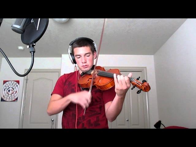 DUBSTEP ON VIOLIN - Kyoto (Violin Cover) - Skrillex - Nathan Hutson
