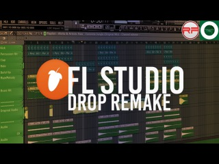 Alvita & Artistic Raw - Concrete Jungle FL Studio Drop Remake (FLP + Donwload)