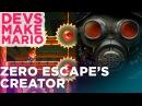 Zero Escape Creator Kotaro Uchikoshi Plays Super Mario Maker —DEVS MAKE MARIO