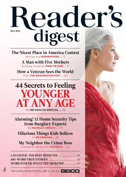 Reader Digest USA May 2017