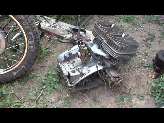 проект RED5 восстановление иж юпитер 5 часть 2 снимаем двигатель