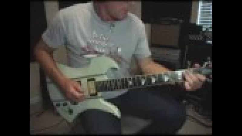 Line6 POD X3 Live Satriani Video Demo by Glenn Delaune