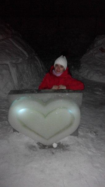 Таня Синенко--Носок: Слобода вражає. Льодові скульптури, мов витвори справжніх майстрів.