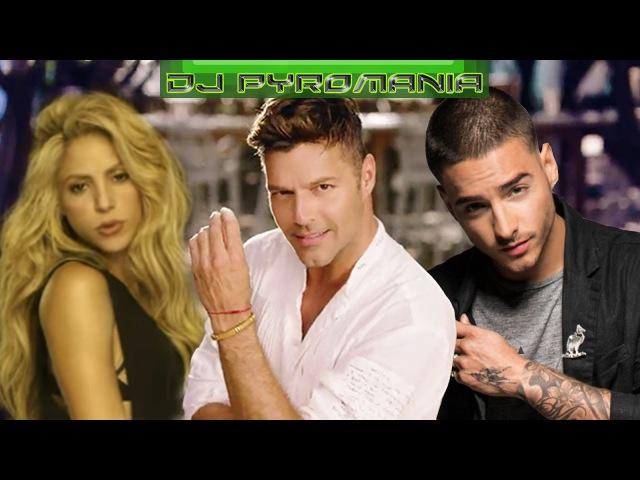 Ricky Martin Shakira y Maluma Chantaje Vente Pa' Ca Mashup