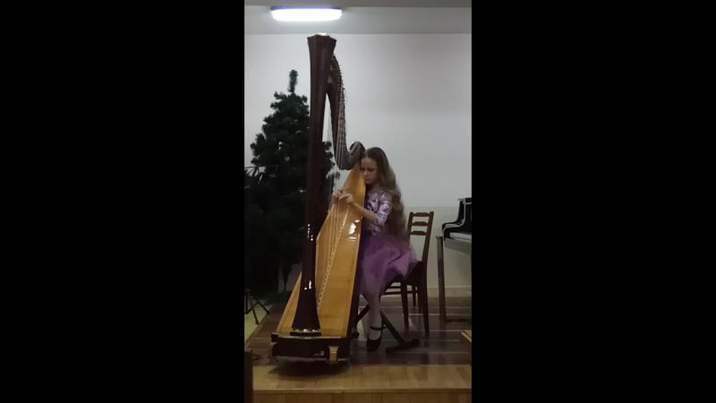 моя Маргаритка Игра на арфе