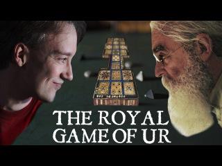 Tom Scott vs Irving Finkel: The Royal Game of Ur   PLAYTHROUGH   International Tabletop Day 2017
