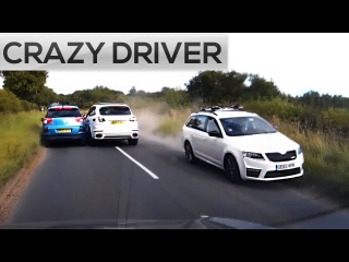 DANGEROUS OVERTAKING! Stupid Crazy Drivers 2017, Extreme Driving Fails, Road Rage And Sounds