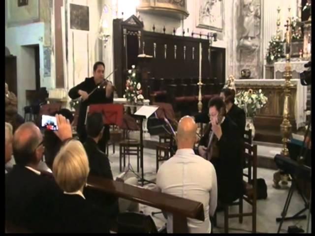 Joachim Johow Fahrt nach Tecklenburg violino Salvatore Petrotto