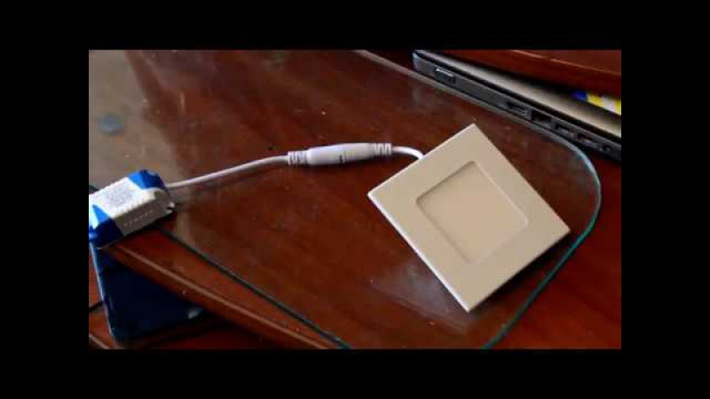 Встраиваемый диммируемый светодиодный потолочный светильник из Китая