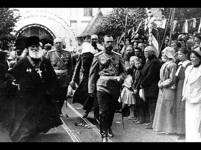 Николай II на открытии памятника Александру II в Киеве 1911 Nicholas II in Kiev