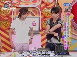 [12 June 07] Rainie & Mike cooking show - WWL cast (eng subs) 3/5