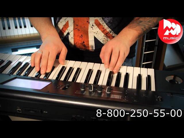 Синтезатор KORG M50 review and demo