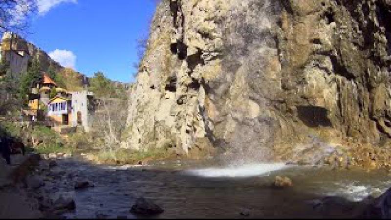 Медовые водопады в Карачаево Черкесии Достопримечательности в окрестностях Кисловодска