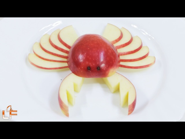 3 Fun Apples Cutting Garnish | Lavy Fuity