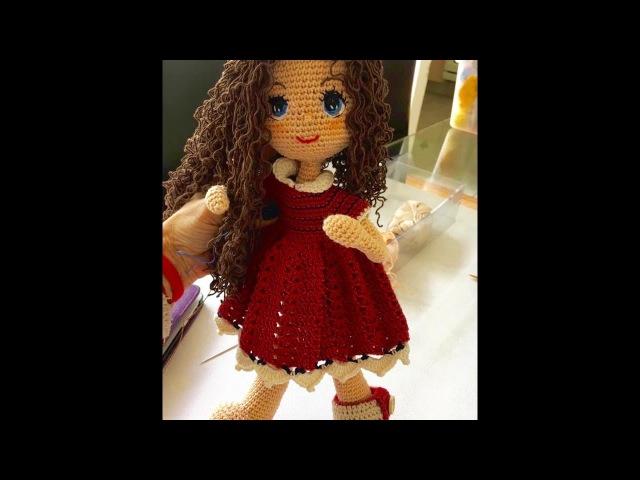 Teje cuerpo muñeca Carolina amigurumi By Petus TERCERA PARTE 3 8 English subtitles