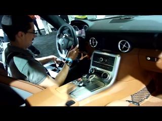 2012 Mercedes SLS in gorgeous Ireland dark green