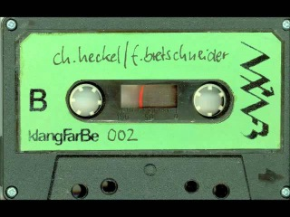 Christian Heckel & Frank Bretschneider – Berlin Bei Nacht - Eine Elektrische Text Musik Collage B