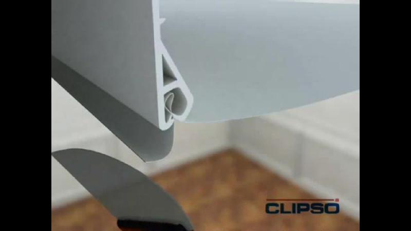 Монтаж тканевых натяжных потолков Clipso