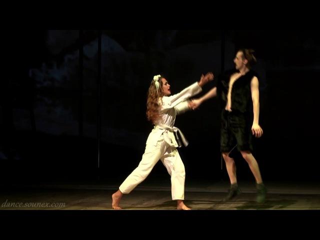 Шуточная сценка Настоящее Кунг-фу Ukraine Dance Show Fest - Кошачьи страсти Чернигов театр