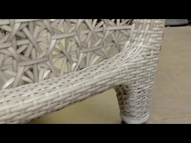 KWA Плетеное кресло Labro видео обзор