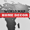 WORLD MAP TRUE PUZZLE & WALL DECORATION