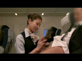 21+ | Asian airline stewardess