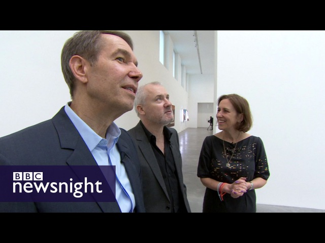 EXCLUSIVE: KIRSTY WARK MEETS DAMIEN HIRST AND JEFF KOONS BBC Newsnight
