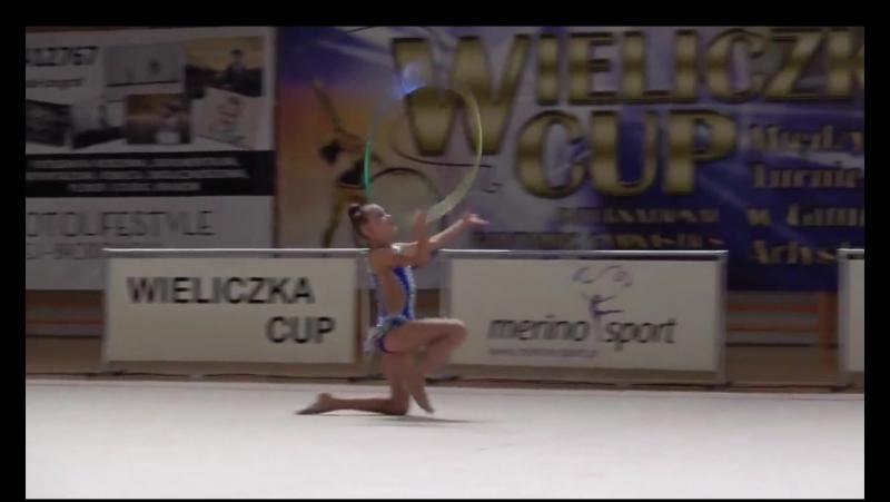 Бученкова Злата обруч WIELICZKA CUP 2017