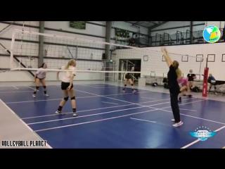 Volleyball training #2 - volleyball tips - volleyball movie hd